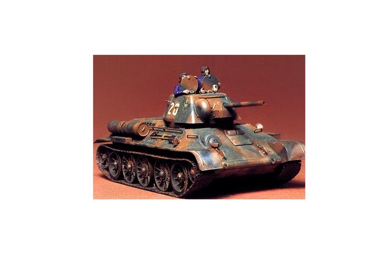 Tamiya 1:35 WWII Russischer Panzer T-34/76 1942/43 35059 Bausatz – Bild 2