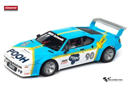 "Carrera 1:24 BMW M1 Procar ""Sauber Racing, No.90"" ohne Decoder aus 23828"