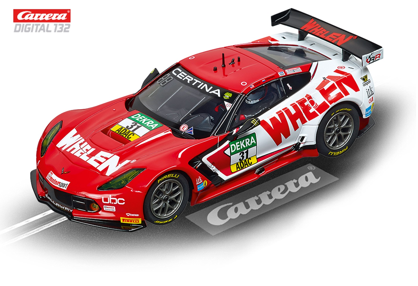 carrera digital 132 corvette c7 r whelen motorsports 30787 rennbahnen slotcars carrera. Black Bedroom Furniture Sets. Home Design Ideas