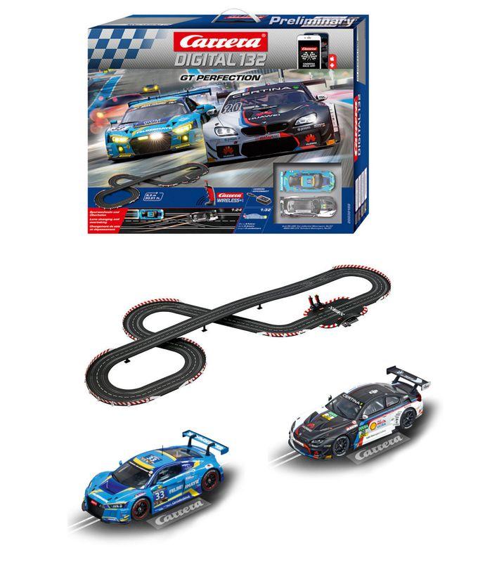 Carrera Digital 132 GT Perfection Startset mit Wireless Reglern 30198 – Bild 2