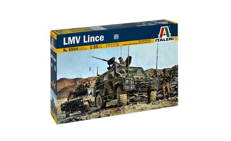 Italeri 1:35 4x4 IVECO Lince Military Vehicle 6504 Plastik Bausatz – Bild 1