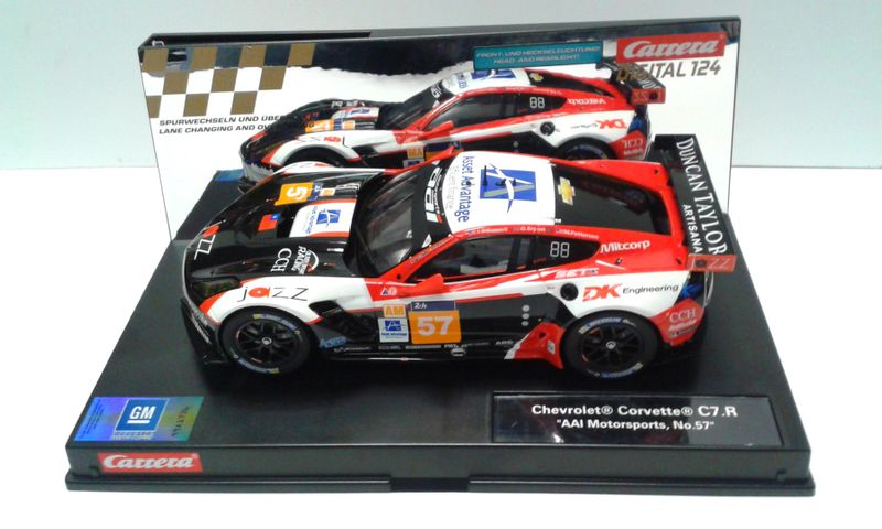 "Carrera Digital 124 CHEVROLET CORVETTE C7.R ""AAI MOTORSPORTS, NO.57"" 23836 – Bild 1"