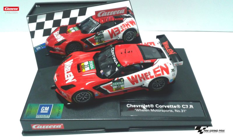 "Carrera Evolution Chevrolet Corvette C7.R ""Whelen Motorsports No.31"" 27548 – Bild 1"