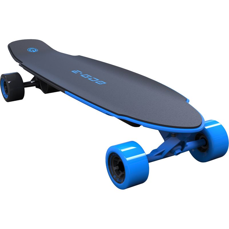 Yuneec E-GO 2 Elektrisches Skateboard Royal Wave EGO2CREU001 Long Board Blau – Bild 1