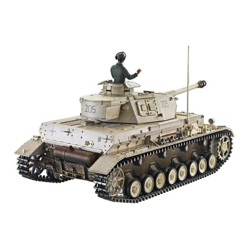 Torro 1:16 RC Panzer IV Ausf. G - Div. LAH Kharkov1943 IR 1110385904 – Bild 3