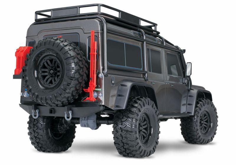 TRAXXAS TRX-4 Land Rover Crawler Silber LimitedEdition 1:10 TRX82056-4S – Bild 4