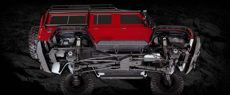 TRAXXAS TRX-4 Land Rover Crawler Silber LimitedEdition 1:10 TRX82056-4S – Bild 8
