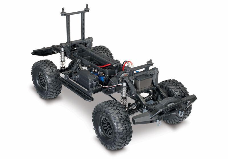 TRAXXAS TRX-4 Land Rover Crawler Silber 1:10 TRX82056-4S mit Akku u. Ladegerät – Bild 2