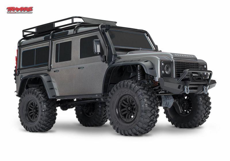 TRAXXAS TRX-4 Land Rover Crawler Silber 1:10 TRX82056-4S mit Akku u. Ladegerät – Bild 4