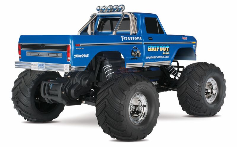 TRAXXAS BIGFOOT No.1 RTR +12V-Lader 1/10 Monster Truck 36034-1 – Bild 2