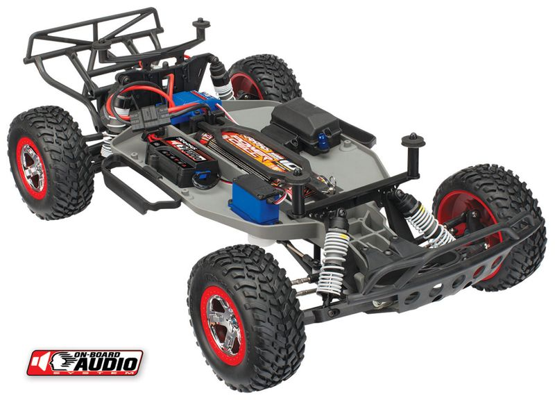 TRAXXAS Slash RTR 1:10 2.4GHz Short Course Racing Truck mit Sound 58034-2BLUE – Bild 3