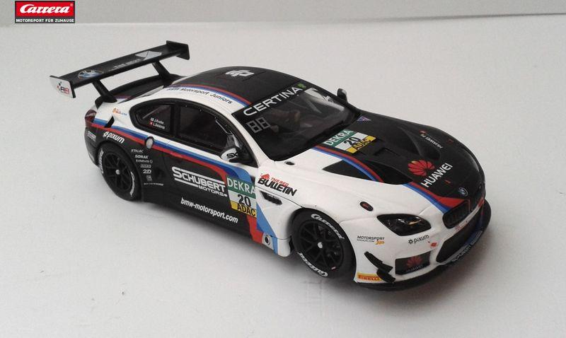 Carrera BMW M6 GT3 SCHUBERT MOTORSPORT, NO.20 ohne Decoder aus 30810