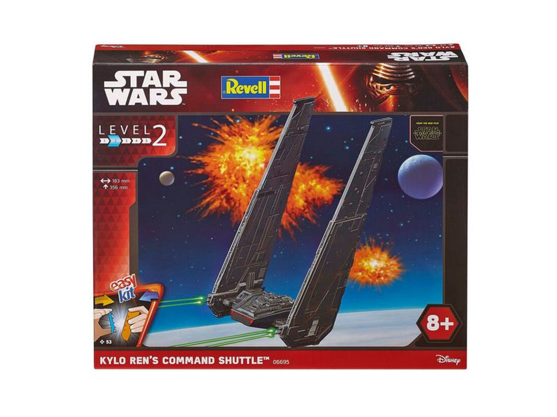 Revell Easy Kit KYLO REN'S COMMAND SHUTTLE 06695 – Bild 1