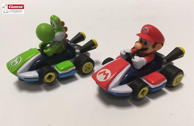 Carrera First Mario und Yoshi Racer aus Mario Kart Starset