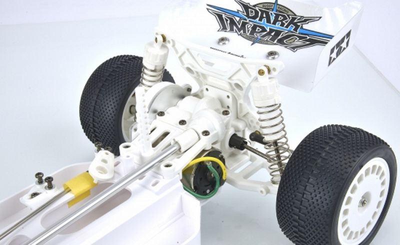 Tamiya 1:10 RC Dark Impact White Version DF-03 84400 – Bild 4