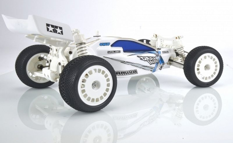 Tamiya 1:10 RC Dark Impact White Version DF-03 84400 – Bild 2