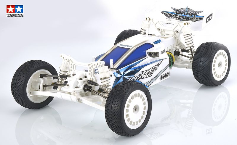 Tamiya 1:10 RC Dark Impact White Version DF-03 84400 – Bild 1