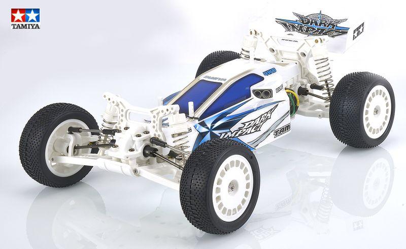 Tamiya 1:10 RC Dark Impact White Version DF-03 84400 – Bild 1