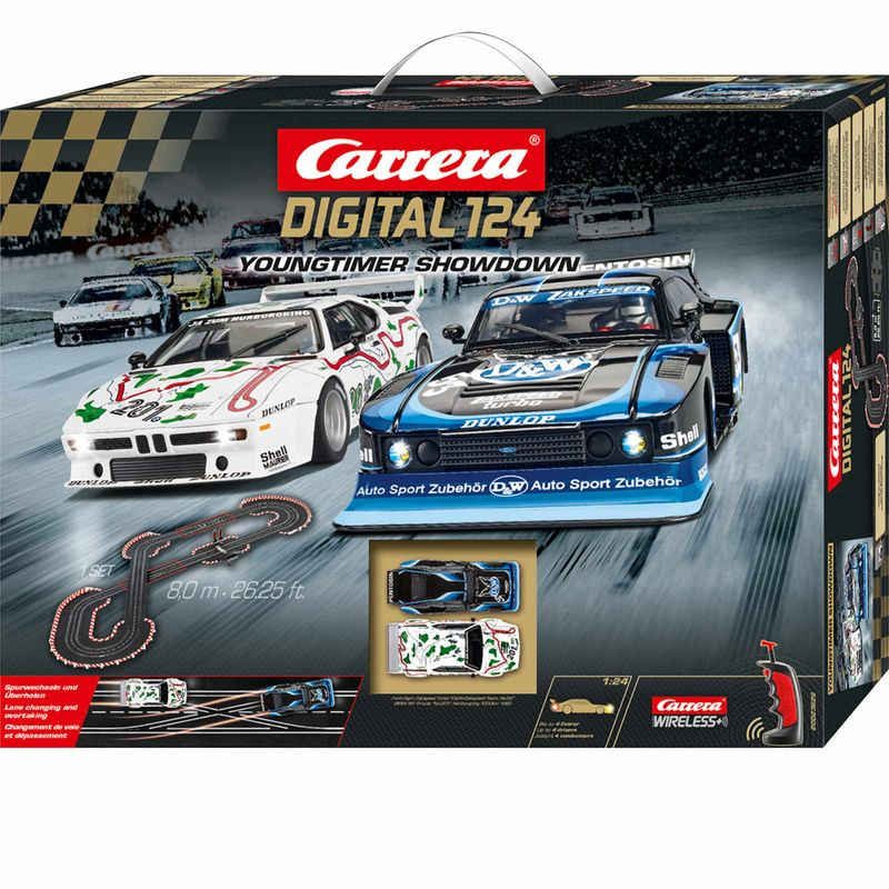 Carrera Digital 124 Youngtimer  Showdown Startset 23626 – Bild 1