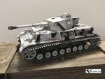 Torro 1:16 RC PzKpfw IV / Panzer 4 Ausf. G Wintertarn IR-Battle 1110385906  001