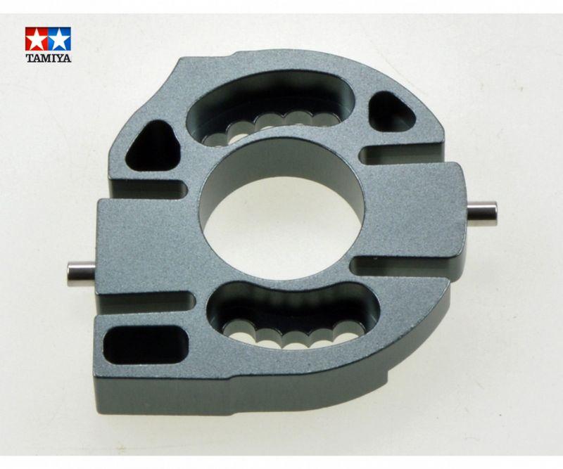 Tamiya CC-01 Alu Motorhalterung Gun Metal eloxiert 54665
