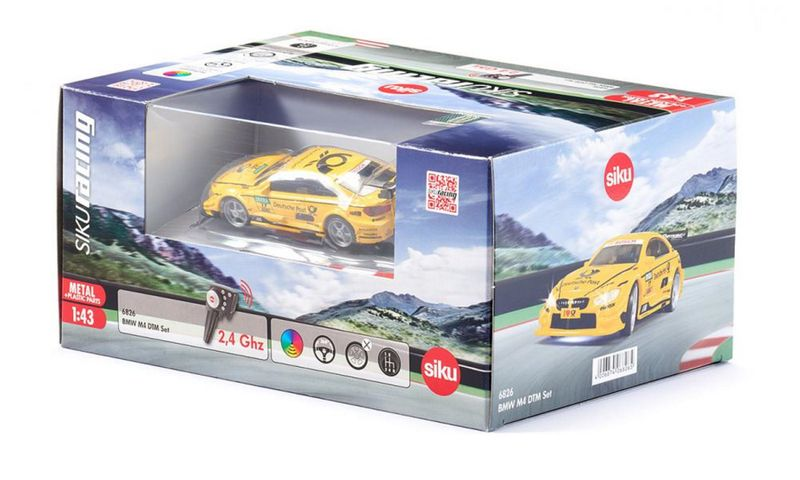 SIKUracing BMW M4 DTM - RC Set 1:43 6826 – Bild 2