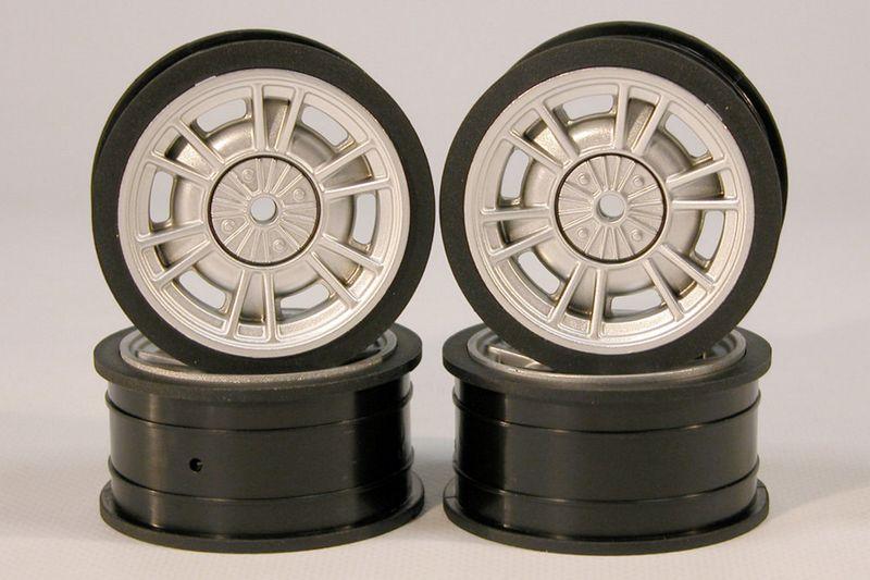 TRL 1:10 Felgen- Set Fiat 124 Abarth (4) TRL209