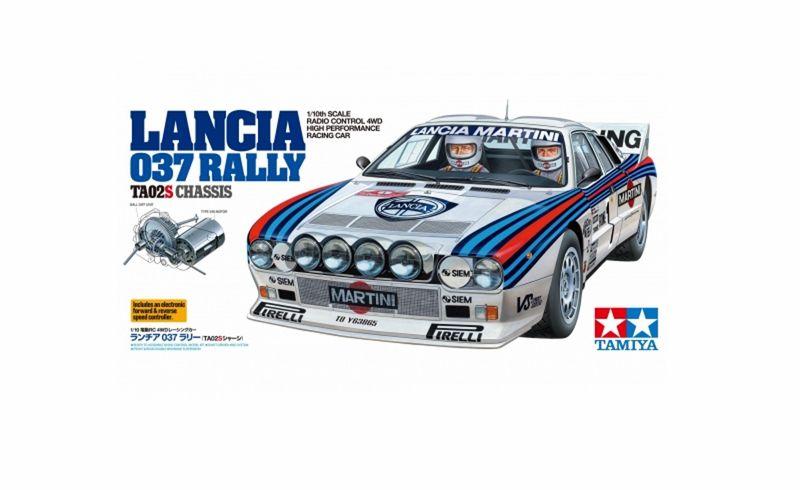 Tamiya 1:10 RC Lancia 037 Rally TA-02SW 58654 – Bild 3