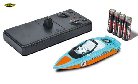 Carson RC Speed Shark Nano Rennboot 2.4G 100% RTR 500108023 – Bild 2