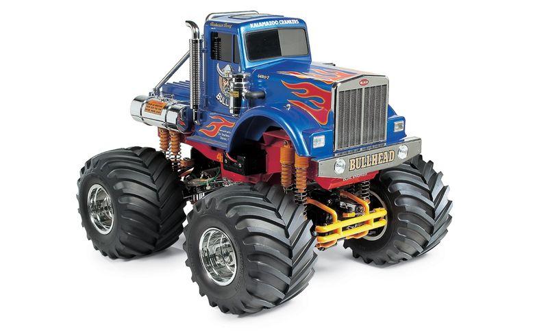 Tamiya 1:10 RC BULLHEAD (2012) 58535 Monster Truck Bausatz – Bild 1