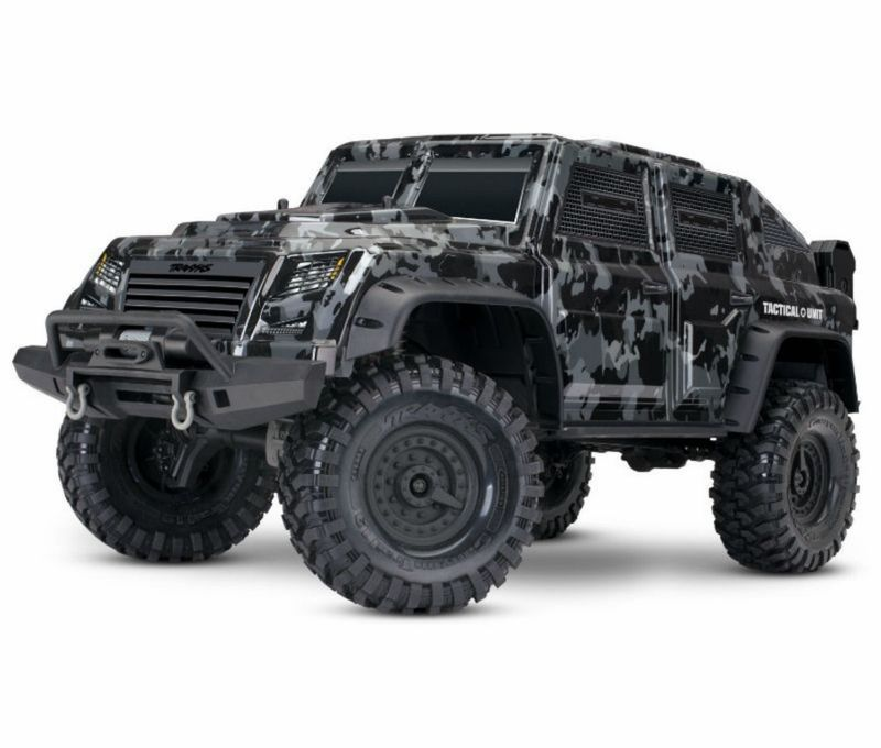 TRAXXAS TRX-4 TACTICAL (Military-Look) 1:10 Crawler 2.4GHz (Link-fähig) 82066-4 – Bild 1