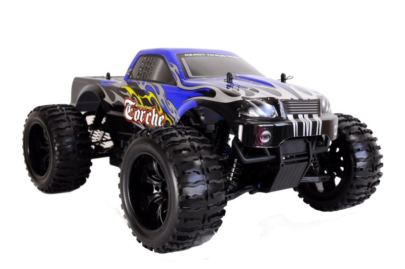 Amewi Torche RC Monster Truck Brushed 4WD 1:10 RTR  22032 + Akku – Bild 4