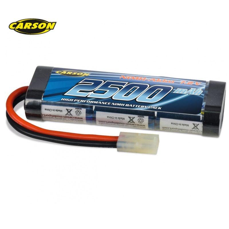 Carson Akku Racing Pack 7,2V/2500mAh NiMH 500608212