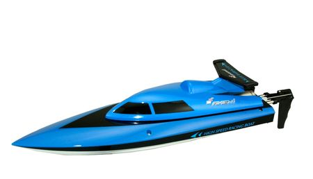 Amewi RC Rennboot Blue Barracuda 2.4 GHz RTR 35cm 26036 – Bild 2
