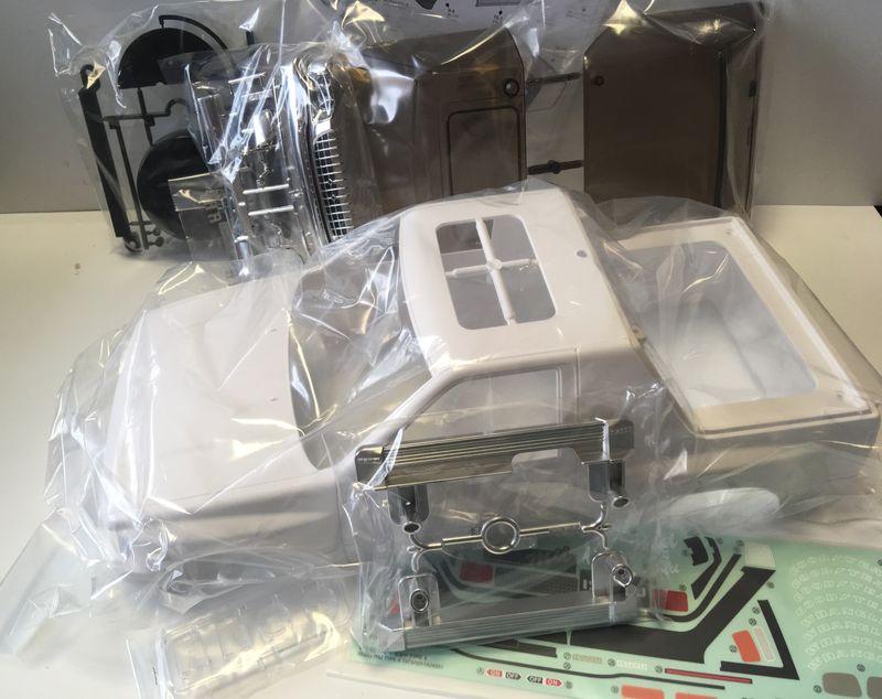 Tamiya Karosserie-Satz 1:10 ISUZU MU Type X für CC-01 Chassis  – Bild 2
