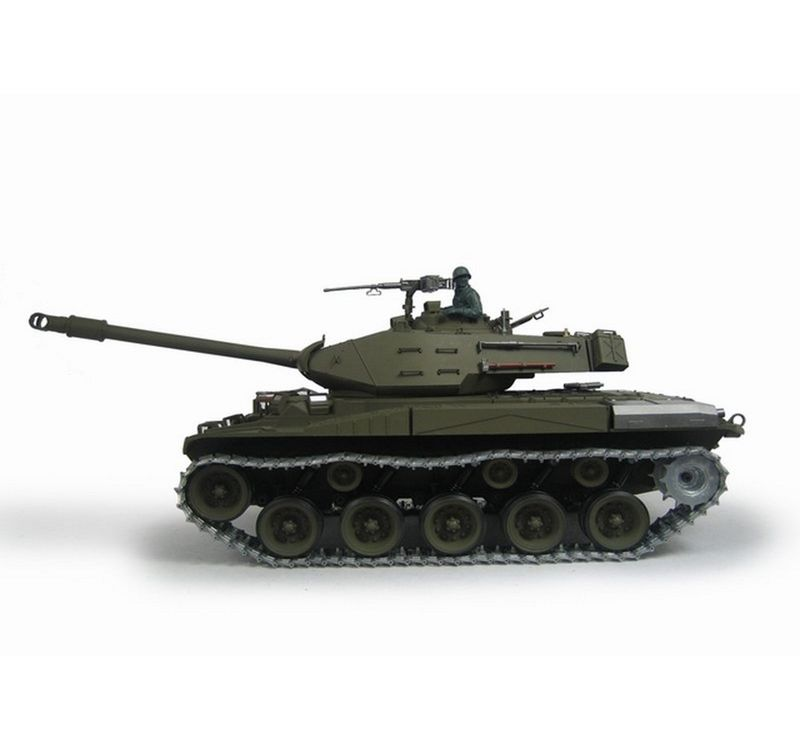 Torro 1/16 RC M41A3 Walker Bulldog BB 2.4GHz +Metallketten 1111503313 – Bild 2