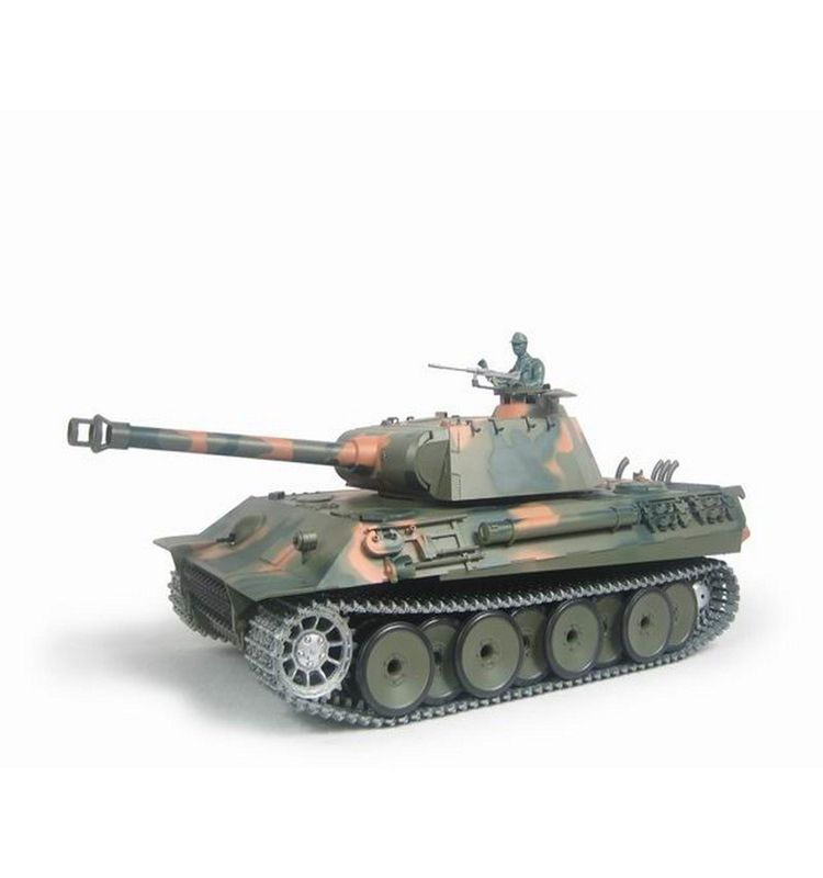 Torro 1/16 RC Panzer German Panther BB 2.4GHz 1115138193 + Metallketten – Bild 1