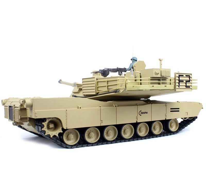 Torro 1:16 RC Panzer M1A2 Abrams BB 2.4GHz 1116039181 neueste Version – Bild 4