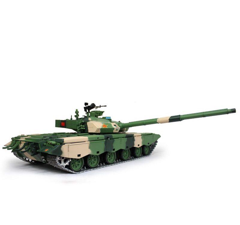 Torro 1:16 RC Panzer ZTZ-99A BB 2.4GHz 1112238997 + Metallketten – Bild 3