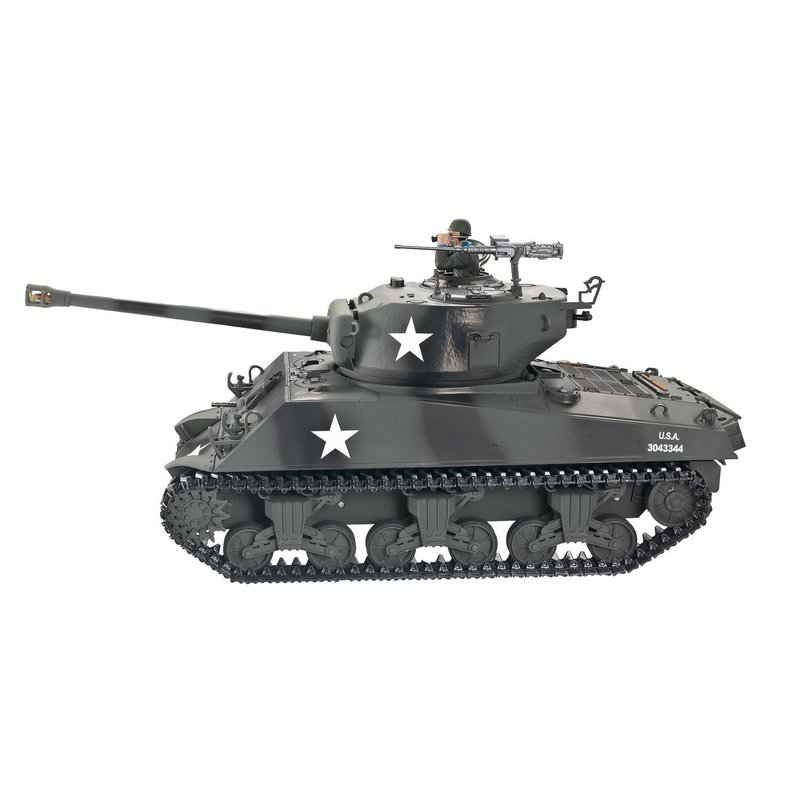 Torro 1/16 RC Panzer Sherman M4A3 76mm BB 1114213060 Profi Metall Edition – Bild 2
