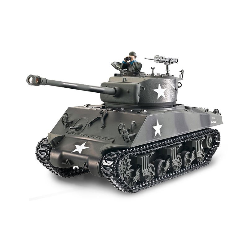 Torro 1/16 RC Panzer Sherman M4A3 76mm BB 1114213060 Profi Metall Edition – Bild 1