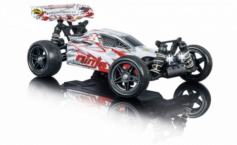 Carson 1:10 Buggy Ninja 4WD X10 2.4G 100% RTR 500404170 mit Licht – Bild 2