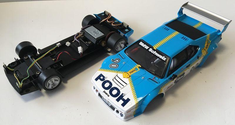 Carrera 1:24 BMW M1 Procar Sauber Racing, No.90 ohne Decoder und Box aus 23828 – Bild 2