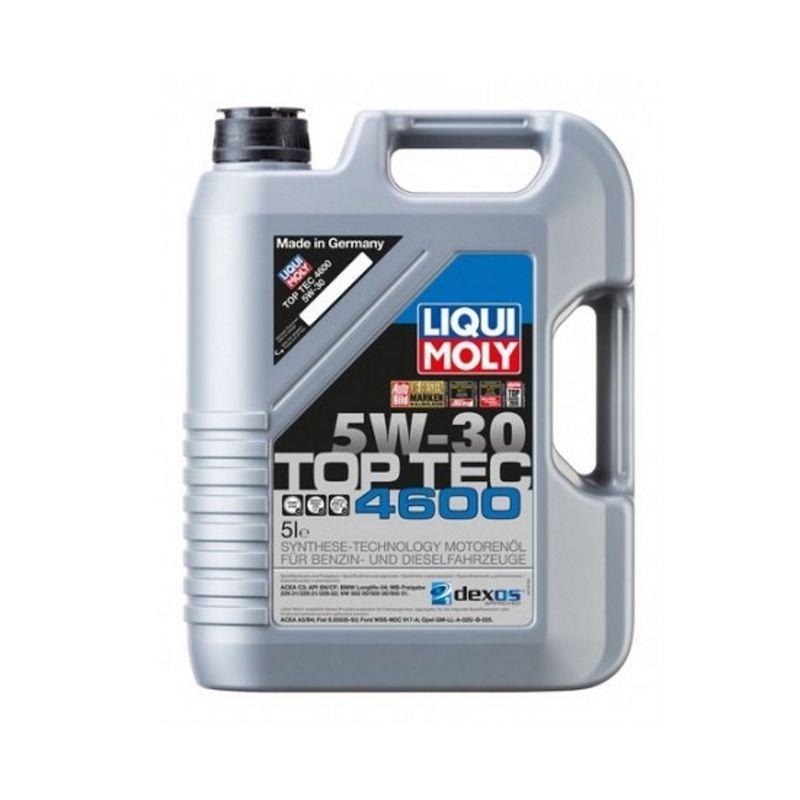 Liqui Moly Motorenöl Top Tec 4600 5W-30 5 Liter Kanister (7,58€ / 1L) 3756