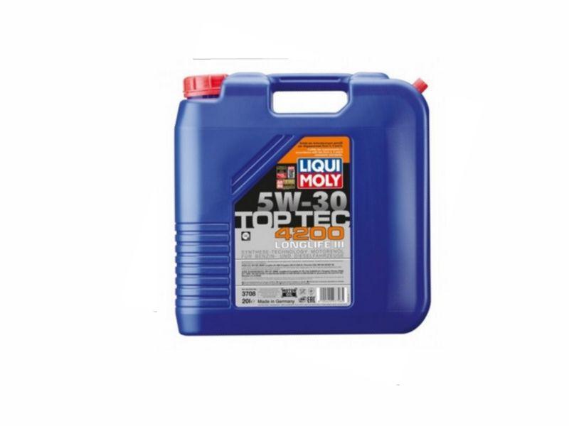 Liqui Moly Motorenöl Top Tec 4200 5W-30 20 Liter Kanister (7,89€ / 1L) 3708