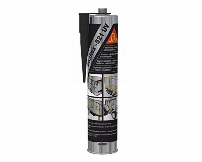 SIKAFLEX 521 UV Schwarz 1x 300ml (30,33€/1000ml) 60179