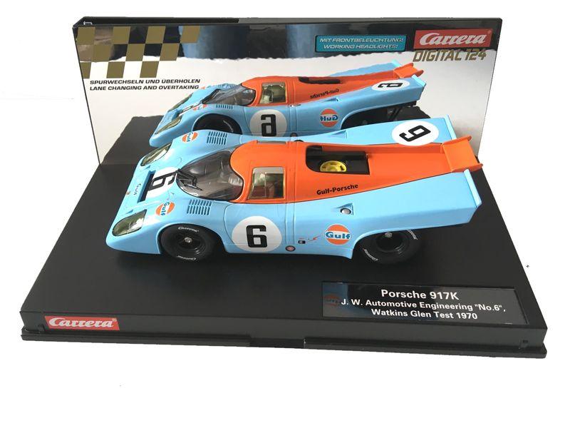 """Carrera Digital 124 Porsche 917K """" Gulf """" """"No.6"""", Watkins Glen Test 1970 23857"""