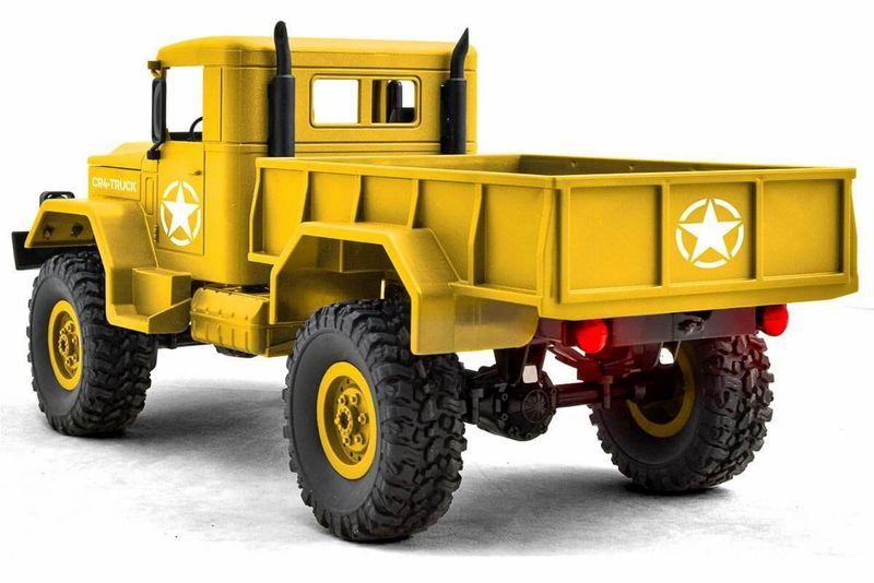 Funtek 1:16 CR4 RC Militär LKW RTR - 4WD (sandfarben) FTK-CR4-SD – Bild 3