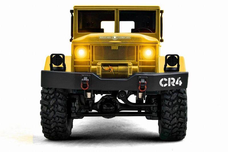 Funtek 1:16 CR4 RC Militär LKW RTR - 4WD (sandfarben) FTK-CR4-SD – Bild 4
