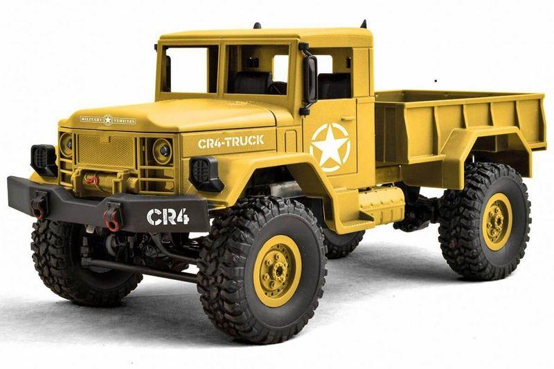 Funtek 1:16 CR4 RC Militär LKW RTR - 4WD (sandfarben) FTK-CR4-SD – Bild 2